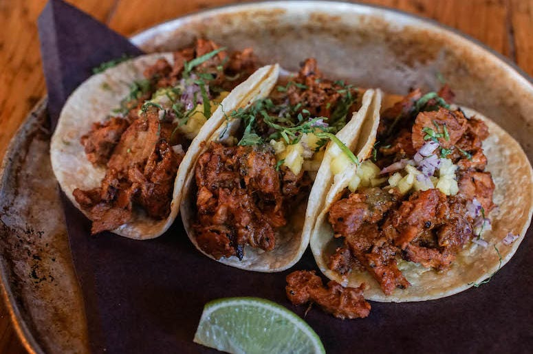 Food, Lunch, Tacos, Pulled Pork