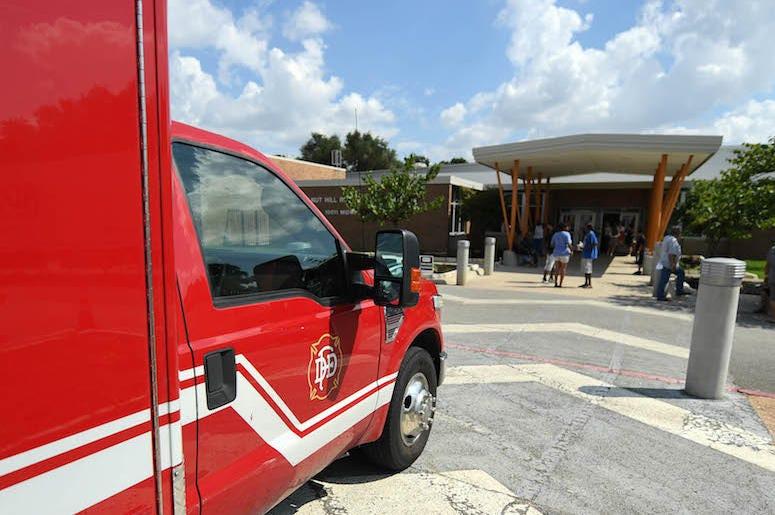 Dallas, Fire Rescue, Truck, Walnut Hill Recreation Center, 2017