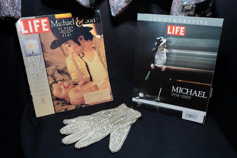Michael Jackson, Glove, Hat, TIME Magazine, 1997
