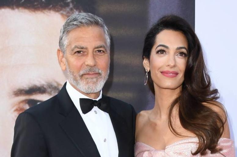 George & Amal Clooney