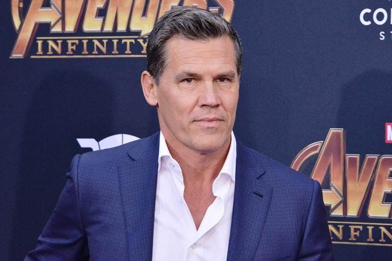 "Josh Brolin arrives at Marvel Studios' ""Avengers: Infinity War"" held on Hollywood Blvd in Hollywood, CA on Monday, April 22, 2018."