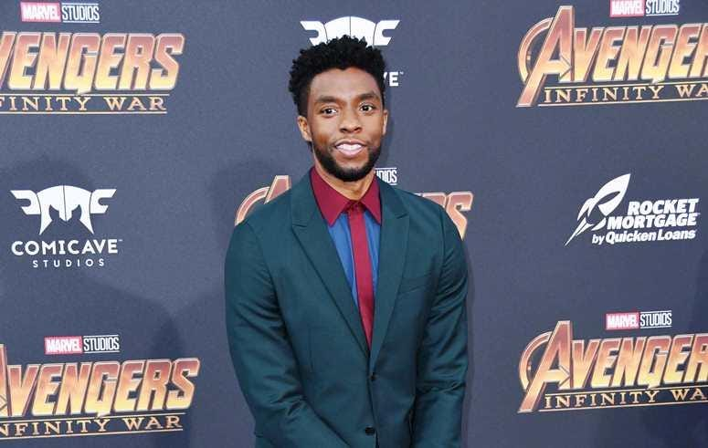 "23 April 2018 - Hollywood, California - Chadwick Boseman . Disney and Marvel's ""Avengers: Infinity War"" Los Angeles Premiere held at Dolby Theater"