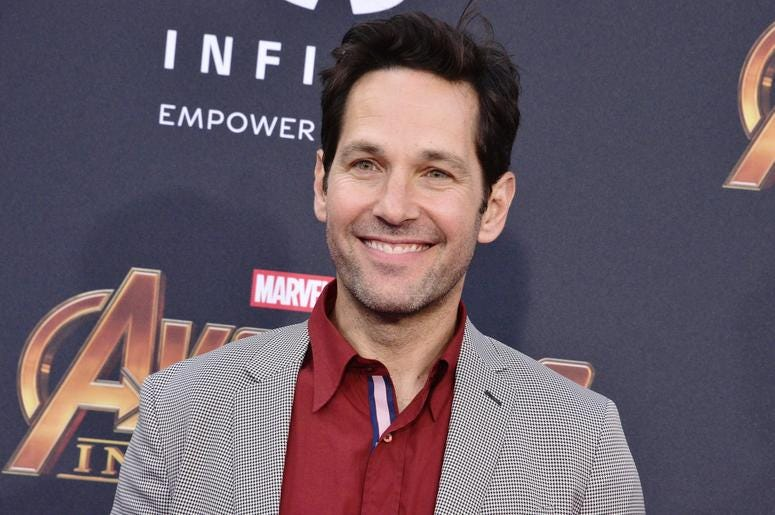 "Paul Rudd arrives at Marvel Studios' ""Avengers: Infinity War"" held on Hollywood Blvd in Hollywood, CA on Monday, April 22, 2018."