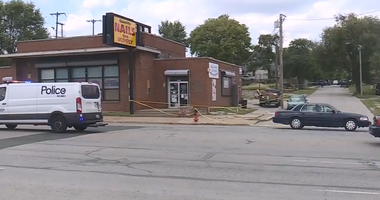 Storefront in Kansas City where shooting occurred