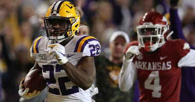 KC Chiefs pick Clyde Edwards-Helaire from LSU in the first round of the 2020 NFL draft