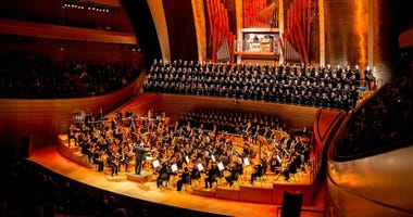 The KC Symphony at Kauffman Center in Kansas City, Missouri