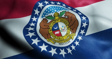 An image of the Missouri state flag
