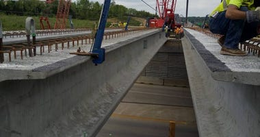 MoDOT Bridge Work