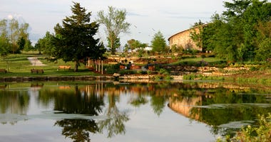 Scenic view of the Overland Park Arboretum