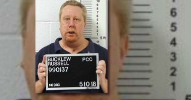 Condemned Missouri Inmate Russell Bucklew poses for a mugshot