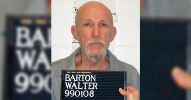 A mugshot of Walter Barton, executed in Missouri May 19, 2020.