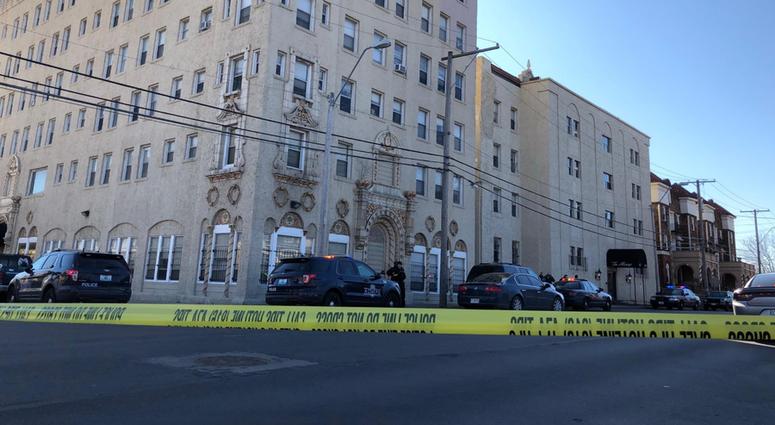Police respond to Alcazar Apartments