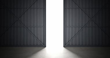airplane hanger doors