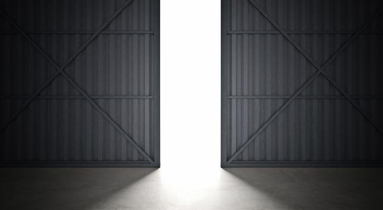 airplane hanger doors