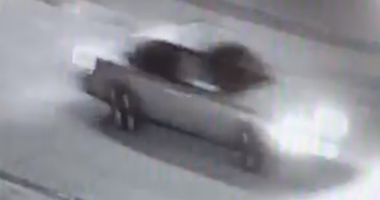 video still of car connected to a homicide