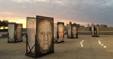 Lest We Forget photo exhibition at the Liberty Memorial