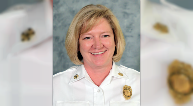 Headshot of Donna Maize, new Fire Chief for KCMO Fire Department