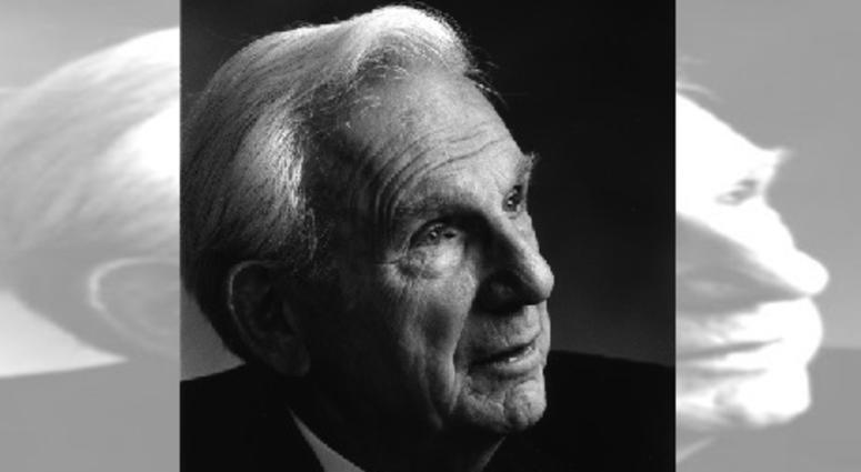 A portrait of Henry Bloch