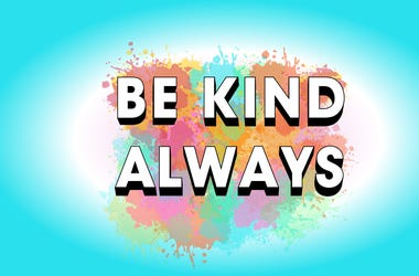 Be Kind Always Cover