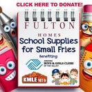 Fulton Homes School Supplies for Small Fries