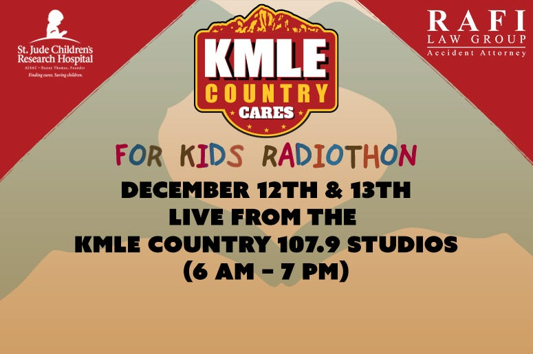 KMLE Country Cares Radiothon