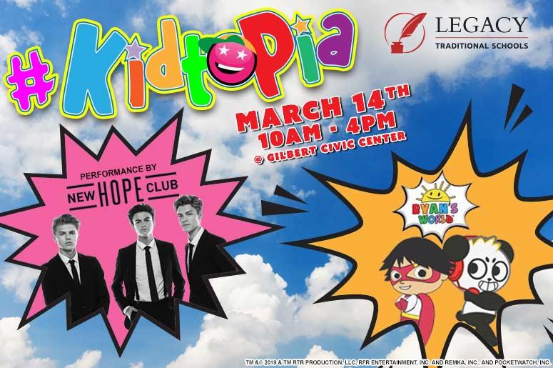 #KIDTOPIA is Arizona's coolest interactive festival built just for kids!