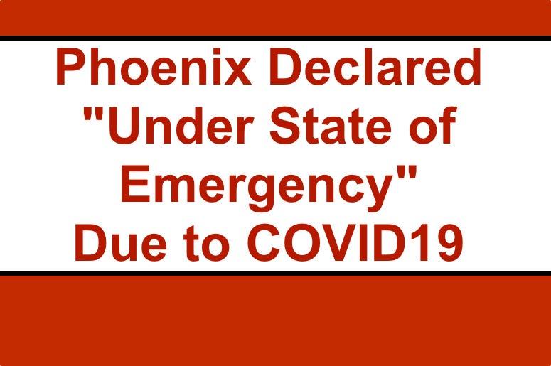 Phoenix Under State of Emergency