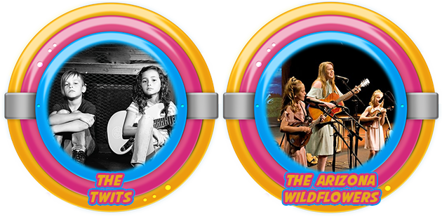 #Kidtopia Presents The Arizona Wildflowers and The Twits