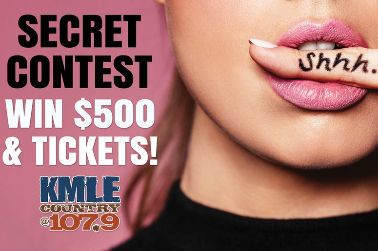 $500 CASH + COUNTRY THUNDER PACKAGE  = SECRET CONTEST!