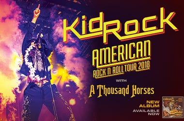 Kid Rock American Rock N Roll Tour 2018