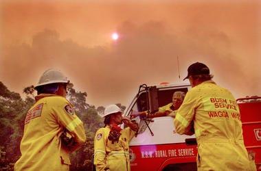 Australia Brush Fire