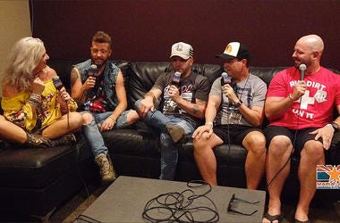 Maria & Chad with LOCASH