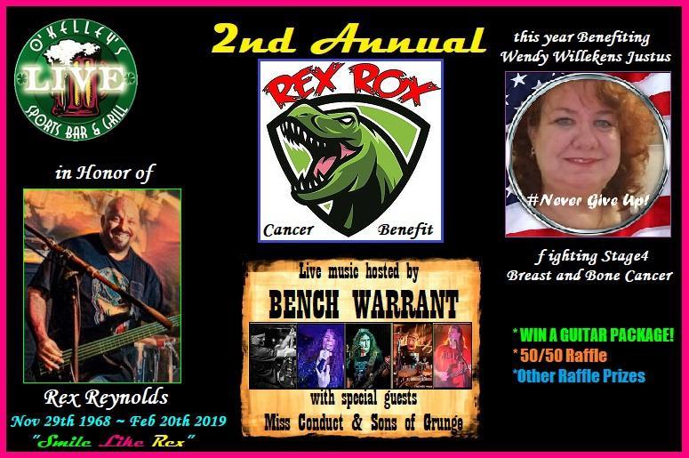 Rex Rox Fundraiser