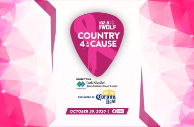 102.9 The Wolf Country 4 A Cause presented by Corona Light to benefit Park Nicollet Jane Brattain Breast Center