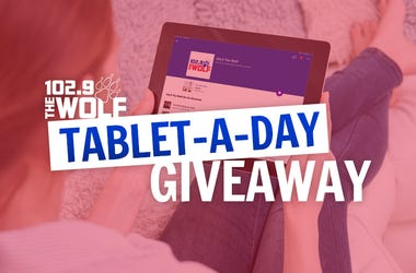 102.9 The Wolf Tablet-A-Day Giveaway