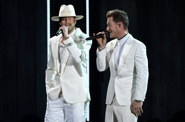 Tyler Hubbard and Brian Kelley, Florida Georgia Line. 52nd Annual CMA Awards