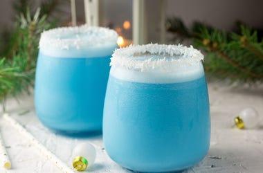 Applebee's dollar drink, applebee's vodka rum drink, applebee's vodka rum frostbite