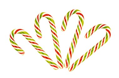 Archie McPhee's, pizza flavored candy canes