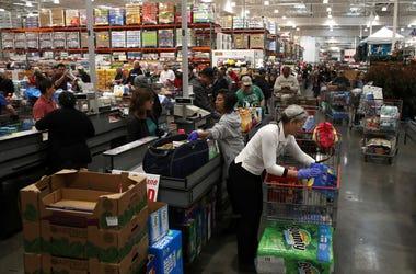 Costco, panic buying, panic buying TP, coronavirus, covid19, walmart