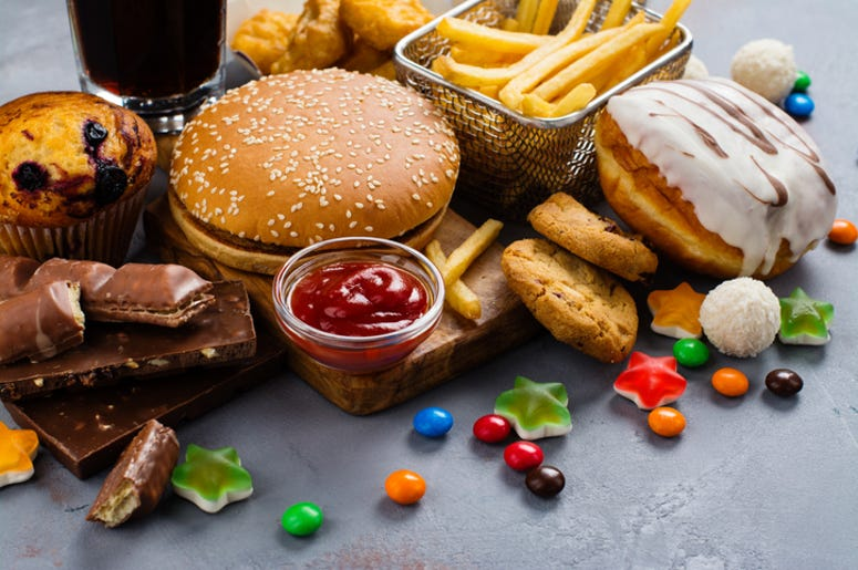 get paid to eat junk food
