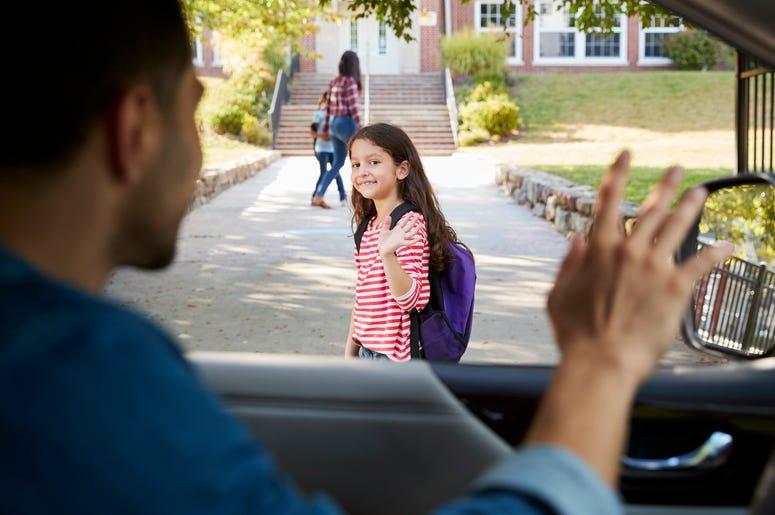 school drop off line rules, tips for school drop off line, school drop off line