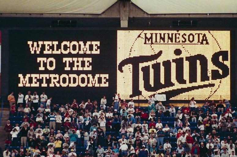 Minnesota Twins, homer hanky, Minnesota Twins homer hanky