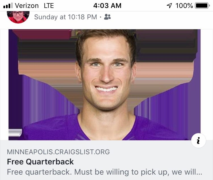 Kirk Cousins, Kirk Cousins Minnesota Vikings, Minnesota Vikings Kirk Cousins