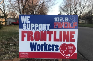 front line workers, how to thank front line workers during coronavirus, essential workers thank you