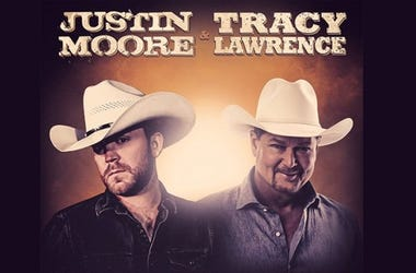 Justin Moore and Tracey Lawrence Late Nights and Longnecks Tour