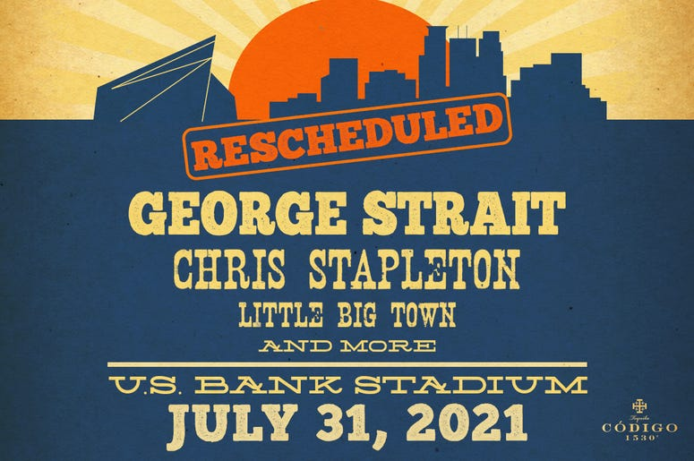 Strait Summer with George Strait at US Bank Stadium