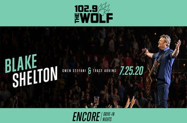 Blake Shelton Drive-In Concert