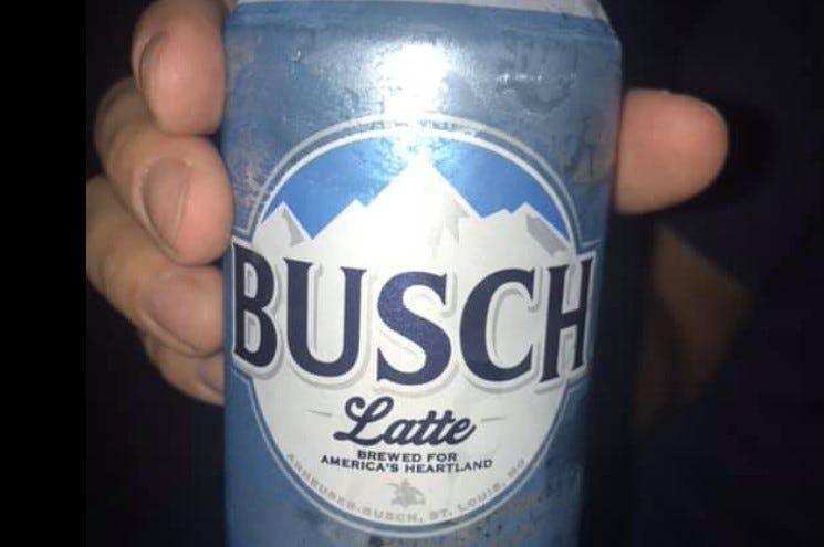 busch latte, busch latte beer, busch beer