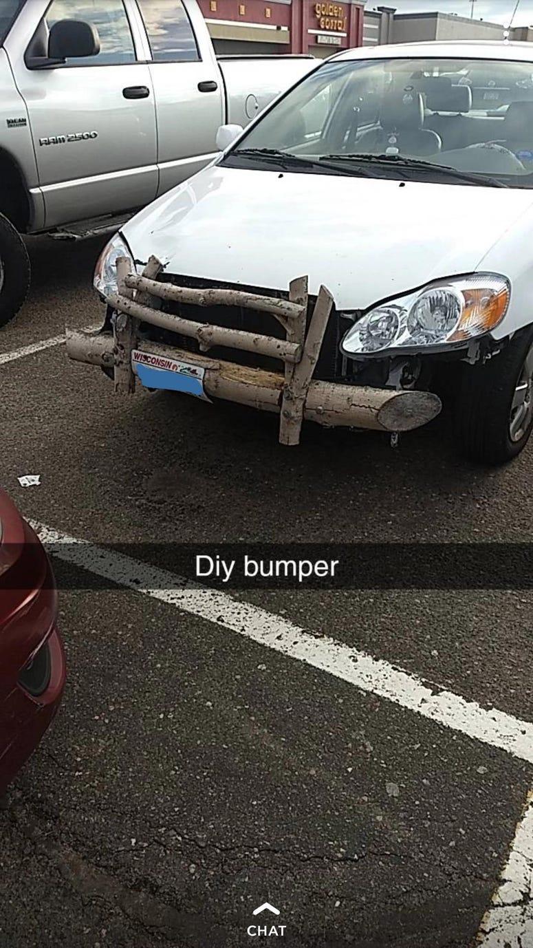 redneck diy bumper