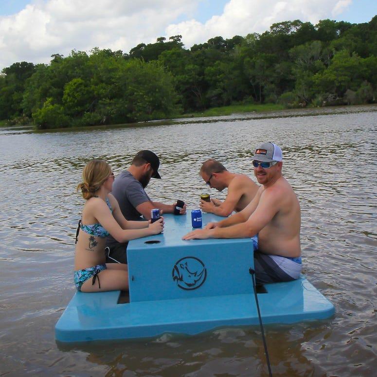 Rhino Floating Picnic Table